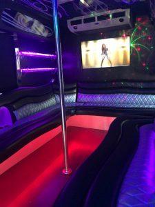 Party Bus Hollister, Party Bus Rental Hollister CA, Limousine Scene