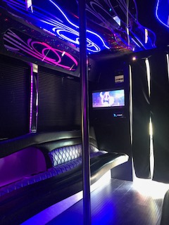 Party Bus Hollister, Party Bus Rental Hollister CA, Limousine Scene